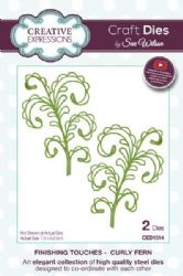CED1514 - Creative Expressions Dies by Sue Wilson - Finishing Touches - Curly Fern